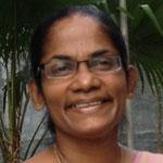 Dr.Chithramala(チットラマーラ教授)ガンパハ大学 シニアレクチャラー 専門はパンチャカルマ