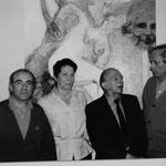 Jacques Henric, Denise et Pierre Klossowski, Bernard Dufour