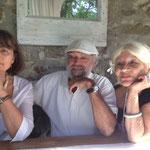 Catherine Millet Patrice et Laure Caffin Cassagnes Été 2013