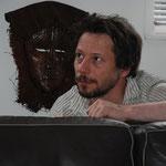 Mathieu Amalric, Lors du tournage de la Balance des blancs, de André S. Labarthe