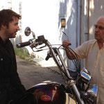 Le cinéaste catalan Albert Serra Jacques Henric Estagel été 2013