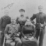 Famille Giss. Alsacienne. Arrière grands-parents maternels.