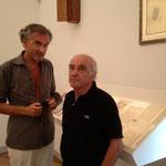 Bernard-Henri Lévy et Jacques Henric Fondation Maeght 2013