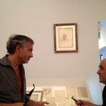 BHL et Jacques Henric Exposition art et philosophie fondation Maeght 2013