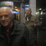 Jacques Henric Pierre Guyotat. Gare de Sceaux la nuit. 20-10 2013