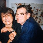 Catherine Millet et l'artiste autrichien Otto Muehl