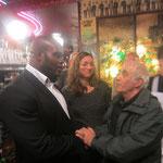 Jean-Marc Mormeck, Reine Graves, Jacques Henric. Reims café du Palais. 10-10- 2013