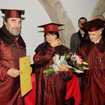 Catherine Millet, docteur Honoris Causa de l'université de Cluj, Roumanie