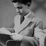 Jacques Henric ; Première communion