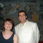 Catherine Millet, Daniel Picouly. Ile Maurice. Remise su prix Le livre d'amour. photo JH