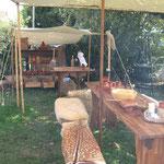 Für den zweiten Markt wurde das Lager um die Küche erweitert.