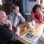 Uwe, Nadja und Jutta.
