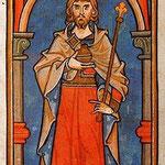 Konrad der III, er war zwar nicht dabei, aber um die Schnittpunkt der Salier und Staufer ging es.