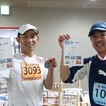 なべちゃん&ポン友 今日は釣りざおをメダルに持ち替えて・・・