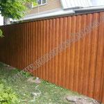 Заборы из профнастила цена с установкой в Дзержинском