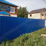 Заборы из профнастила для дачи в Дедовске