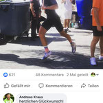 Tune my Shoe (Dr. Matthias Marquardt, Marquardt Running) – Andi Böcherer in getunten Laufschuhen von Andreas Kraus (vital-laufen.de)