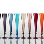 """Glasserie """"Excess"""" Champagnerflöten"""