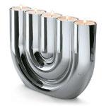 """Teelichthalter """"Double U"""" von Philippi"""