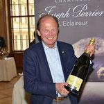 Dr. Ulrich Steinleitner präsentiert Joseph Perrier