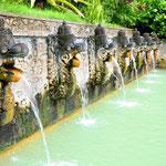At Holy Hot Springs in Banjar