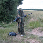 Omgeving, jager op vossenjacht, in opdracht van de Franse regering