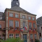 Stadsplein Vervins, stadhuis