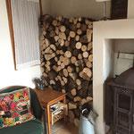 Brandhout voor gebruik
