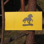 Da geht´s lang - Ulrichs schicke Hinweisschilder