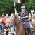 Andrea und Illi bringen Sachsen-Anhalt nach Berlin. (Foto: Prtra Derksen)