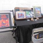 Jack's booth shot 3 - Prints and display rack