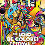 De Colores Festival Poster and Flyers, By Shalak, Commissioned by Alameda Theatre Toronto, 2010, Canada