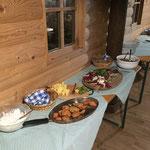 Leckeres Abendessen von Obmann Andi