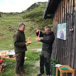 Sieger Stefan, Wanderpokal des FV, Siegermedaille, Gutschein über €100 bei Jagd und Fischerei Keckeis Bludenz