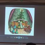「やまあらしぼうやのクリスマス」スライド劇上映