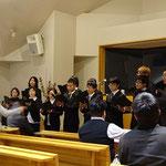 新潟聖書学院生たちによる賛美