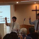 礼拝では手話讃美がささげられました