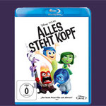 Alles Steht Kopf Blu-ray DVD - Disney - kulturmaterial