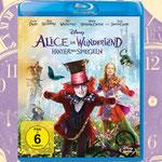Alice im Wunderland Hinter den Spiegeln Blu-ray - Disney - kulturmaterial