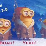 MINIONS 3D, Trailer, Kino, klein, gelb aus ICH EINFACH UNVERBESSERLICH, Universal Pictures