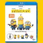 Minions - Blu-ray - DVD - Universal - kulturmaterial - Title