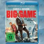 Big Game - Blu-ray - DVD - Samuel L Jackson - Ascot - kulturmaterial