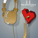 Buch, hier: PARALLELLEBEN von Caspar Keller, Roman über Liebe, Leben, Likes