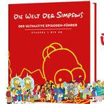 Simpsons Buch-Die Welt der Simpsons-Riva-MVG-Buch-kulturmaterial