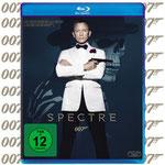 Daniel Craig Spectre Blu-ray DVD - 20th Century Fox Home - kulturmaterial