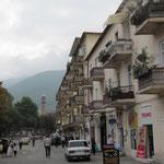 Geschäftsstrasse in Seki