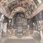 verbleibende Fresken