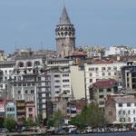 Galata Tower auf Asienseite
