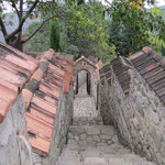 Weg zur heiligen Quelle
