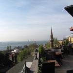 Sicht auf Marmarameer vom Hotel